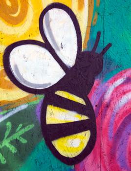 Charity shop mural, Washway Road, Sale, Trafford