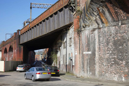 Railway viaducts, Temperance Street