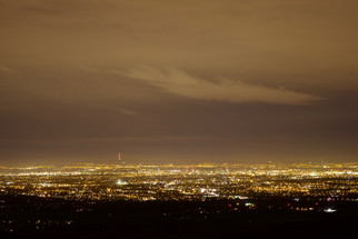 Manchester from Sponds Hill near Disley