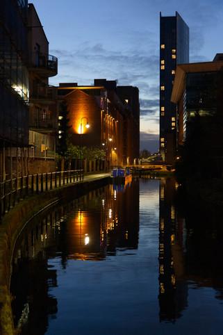 Rochdale canal near Whitworth Street West