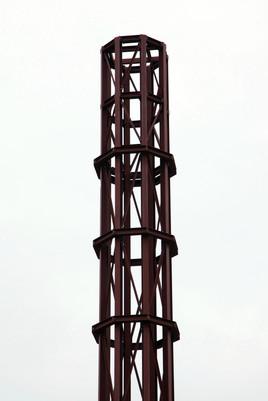 Minaret under construction, Hamilton Road, Longsight