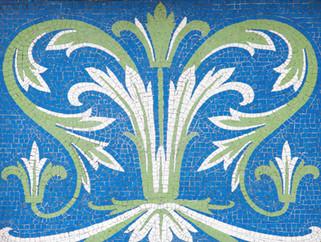 Mosaic, Victoria Railway Station