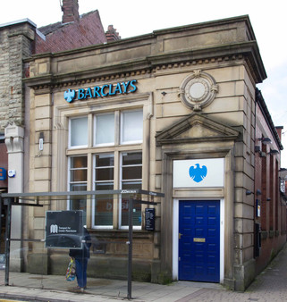 Barclays Bank, Market Street, Shaw, Oldham