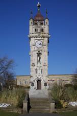 Whitehead Clock Tower, Whitehead Garden, Bury