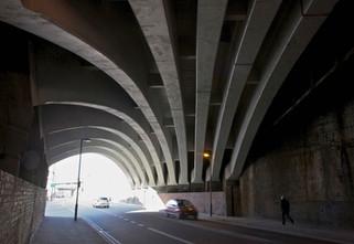 Railway viaduct, Fairfield Street