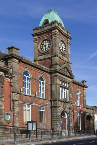 Royton Town Hall, Oldham Road, Royton, Oldham