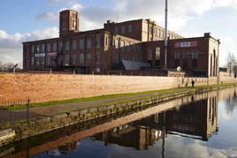 Swan Mill, Rochdale Canal, Chadderton, Oldham