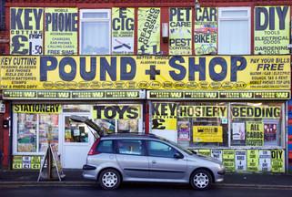 Pound Shop, Wellington Street, Gorton