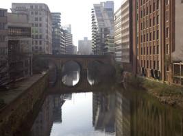 River Irwell from Victoria Bridge