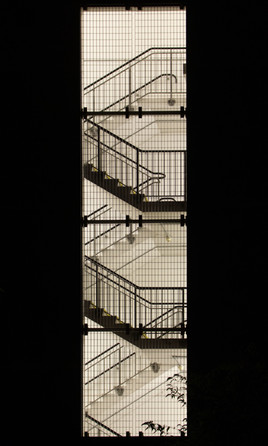 Stairwell of Picadilly station car park