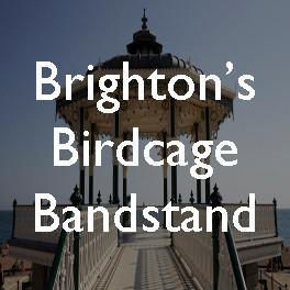 Orientalism-on-sea: Brighton's birdcage bandstand