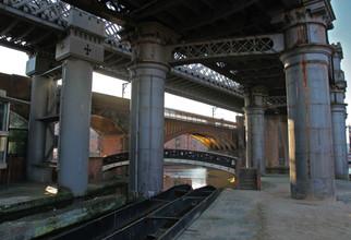 Railway viaducts, Castlefield basin