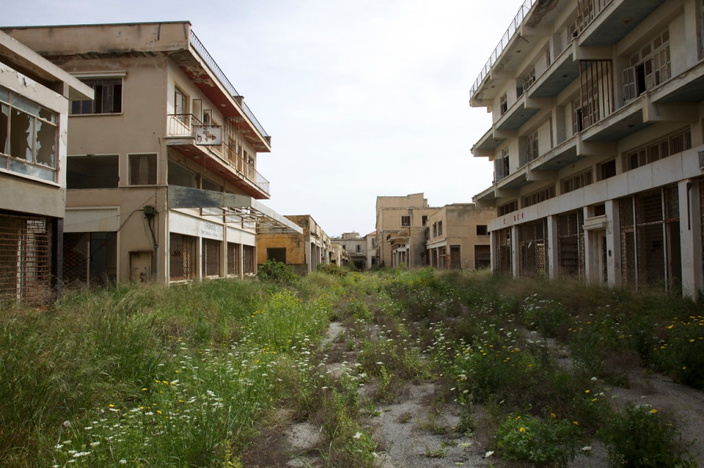 3. Vegetation in Irakleus Street, Varosha