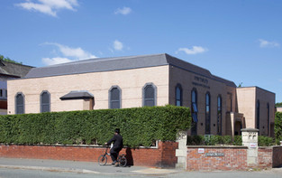North Manchester Synagogue, Leicester Road, Broughton