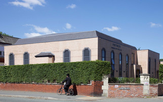 Synagogue, Leicester Road, Broughton cop