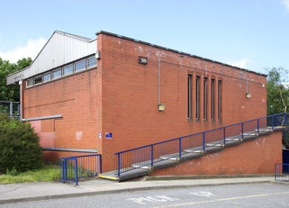 Bredbury railway station, Stockport Road East, Bredbury, Stockport