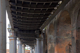 Railway viaducts, Potato Wharf, Castlefield