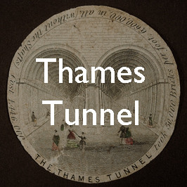 Advertising the underground: London's first Thames Tunnel