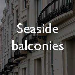 Seeing and being seen: seaside balconies