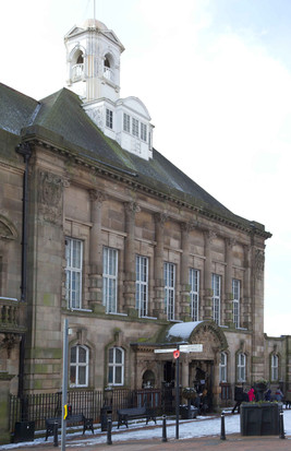 Leigh Town Hall, Market Place, Leigh