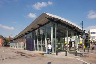 Metrolink bus station, Church Street, Eccles, Salford