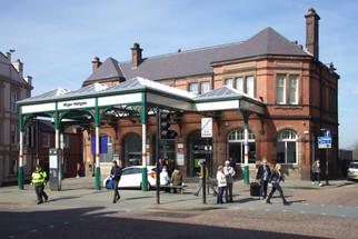 Wigan Wallgate railway station, Wallgate, Wigan