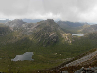Couilin forest from Sgorr Ruadh, Scotland