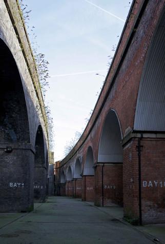 Railway viaducts, Spaw Street, Salford