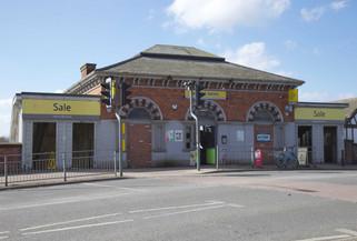 Sale tram station, Northenden Road, Sale, Trafford