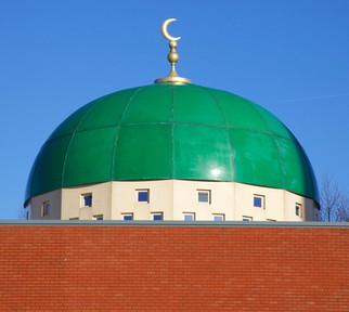 Oldham Central Masjid, Dew Way, Oldham