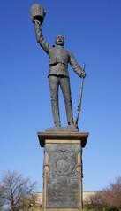 Lancashire Fusiliers' South African War Memorial, Whitehead Garden, Bury