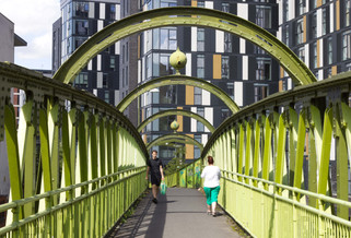 Woden Street footbridge, St George's