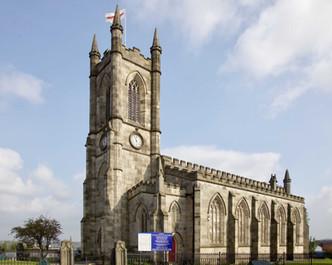 St Thomas church, Broad Street, Pendleton, Salford