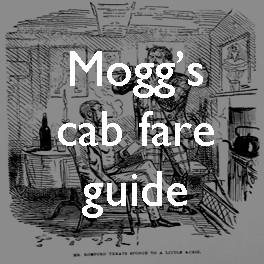 Measuring Victorian London: Mogg's cab fare book
