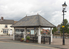 Former market, Market Place, Standish