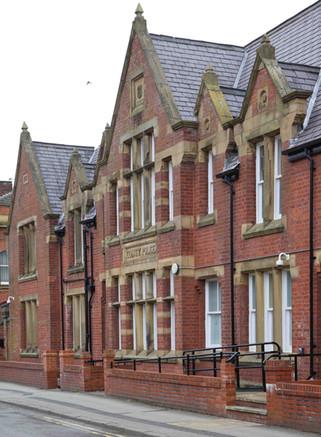 Former police station, Church Street, Farnworth, Bolton
