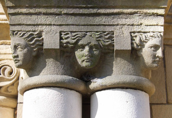 Capitals, St Elizabeth's Church, Reddish
