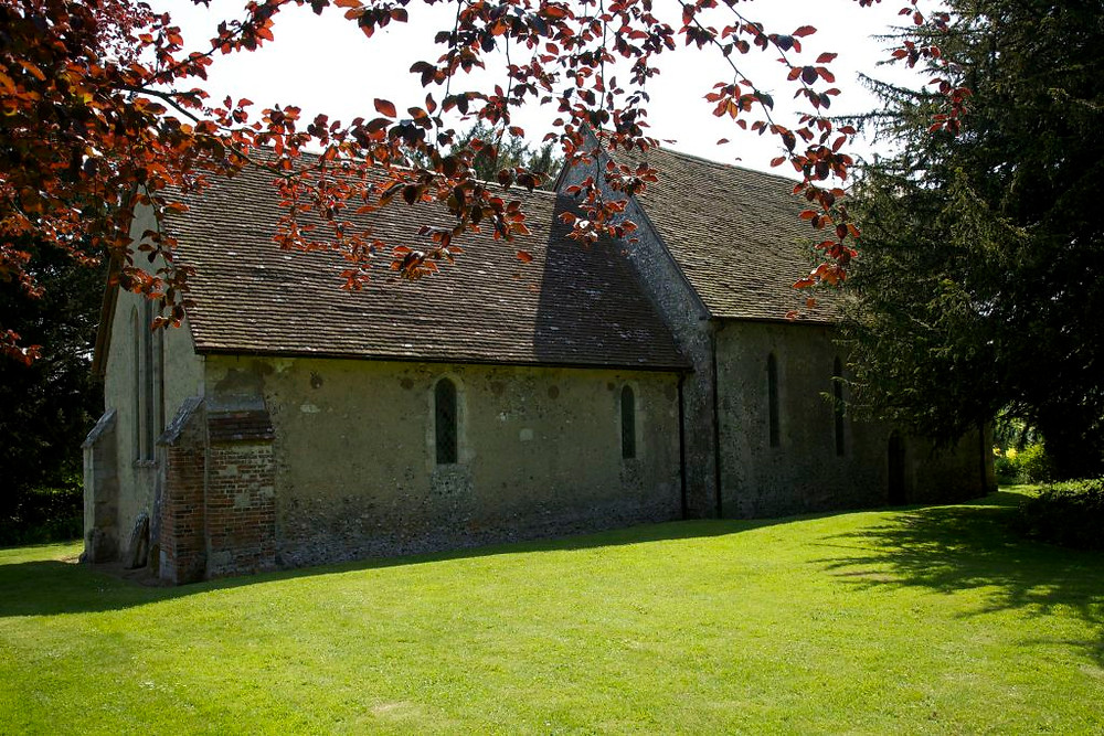 Exterior of St Michael's church, Up Marden