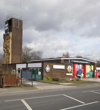 Police, Fire & Ambulance Station, Fairhills Road, Irlam, Salford
