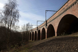 Metrolink tram viaduct, Collyhurst