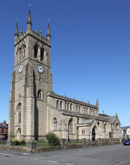 St James with St Thomas, Tipping Street, Wigan