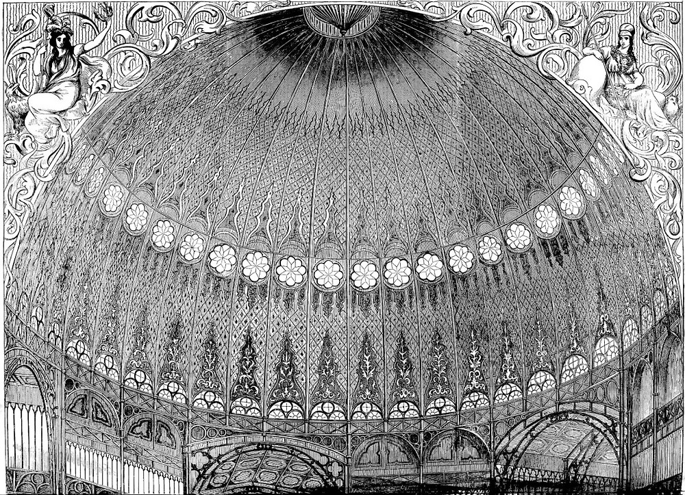 Interior of the New York Crystal Palace, 1853
