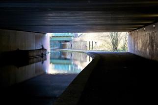 Ashton Canal tunnel under the M60 motorway, Audenshaw