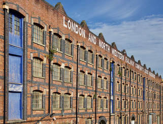 London and North Western Railway Goods Warehouse, Wellington Road North, Stockport