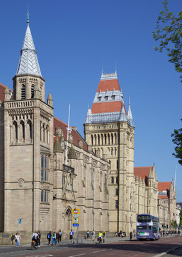 John Owens Building, University of Manchester, Oxford Road