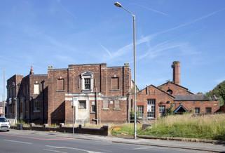 Former Levenshulme Baths, Barlow Road, Levenshulme
