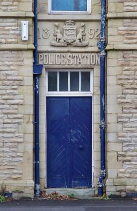 Police station, Oldham Road, Failsworth