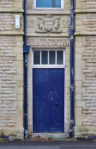 Police station, Oldham Road, Failsworth