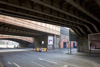 Railway bridges, Great Ducie Street, Salford