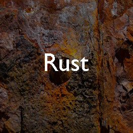The aesthetics of decay: rust